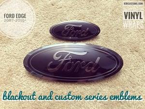 Image of Ford Edge 2007-2014 (SE, SEL, Titanium, Sport) Custom Emblems