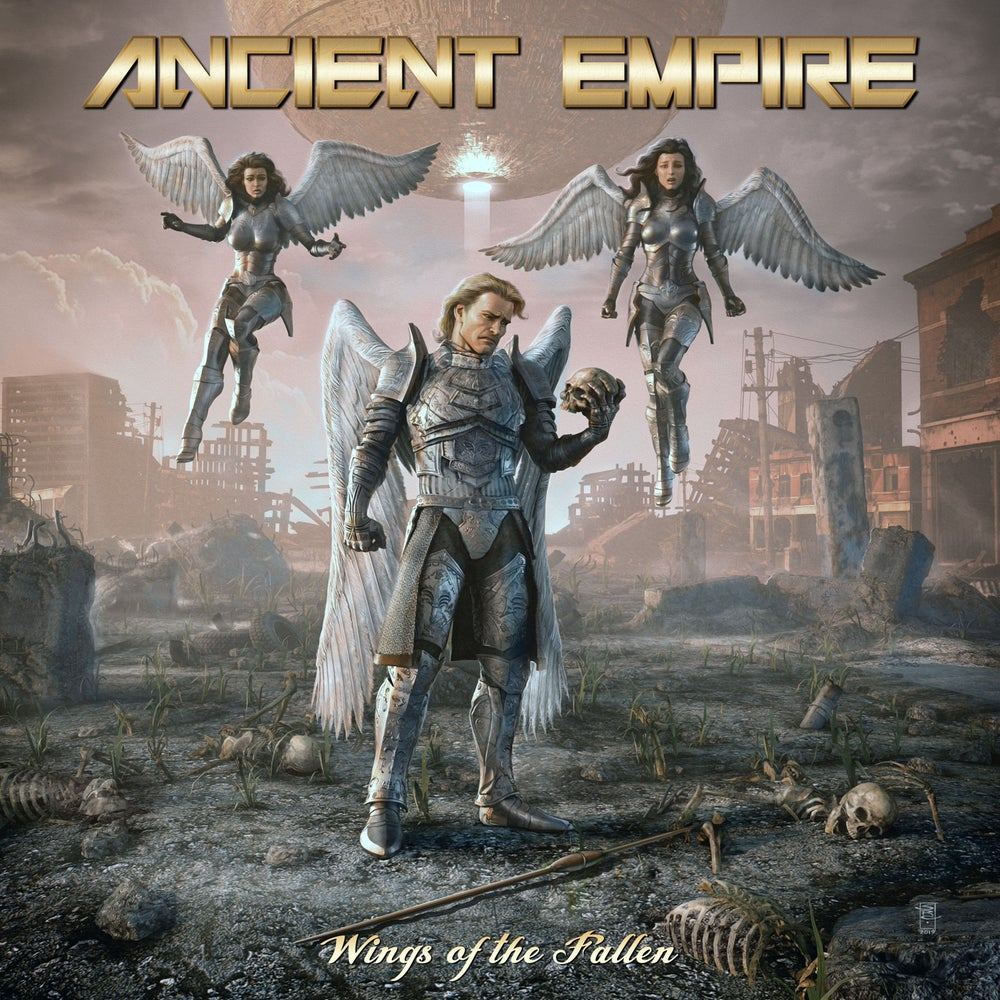 ANCIENT EMPIRE - Wings of the Fallen CD