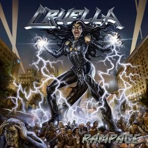 Image of CRUELLA - Rampage CD