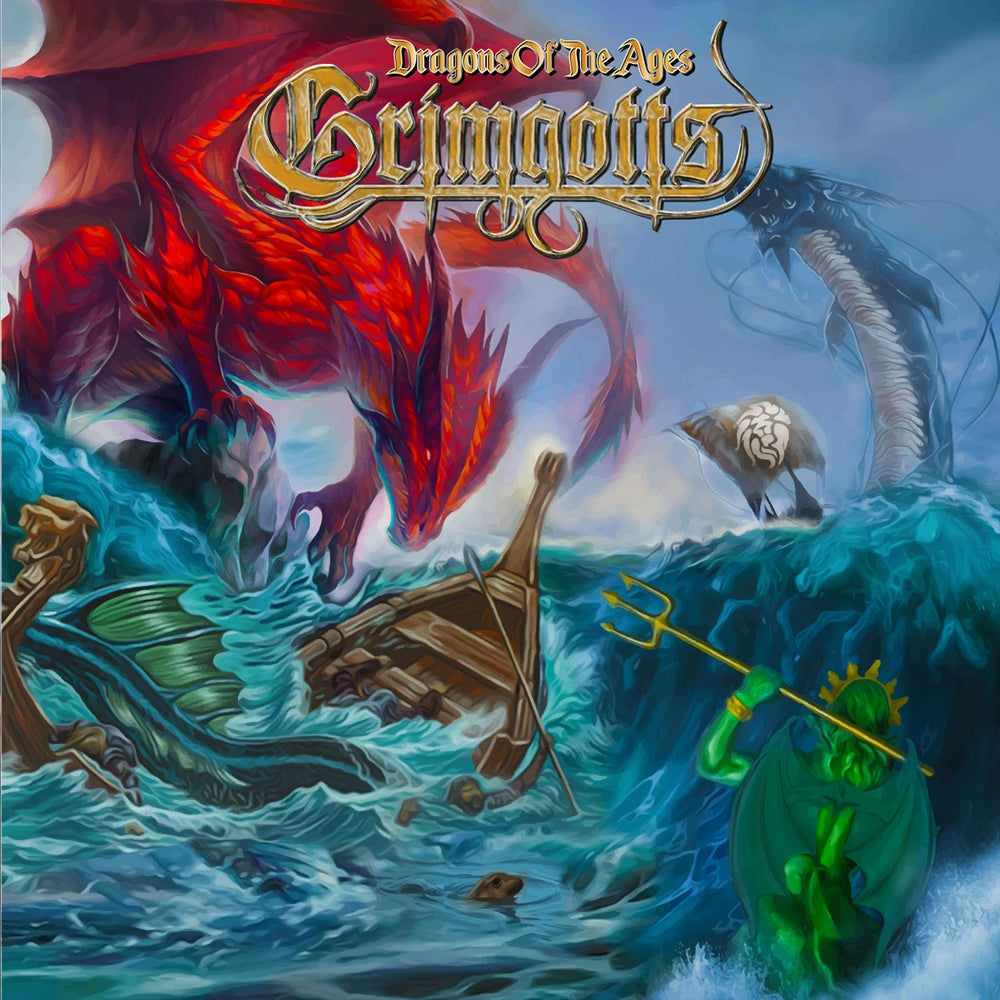 GRIMGOTTS - Dragons of the Ages CD