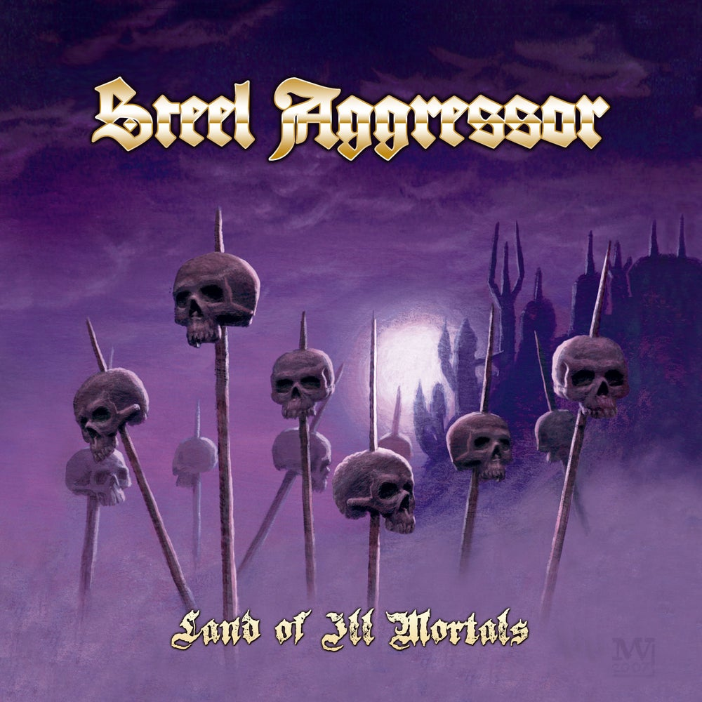 STEEL AGGRESSOR - Land of Ill Mortals CD