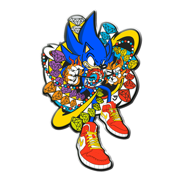 Image of Sonic Glover Pin