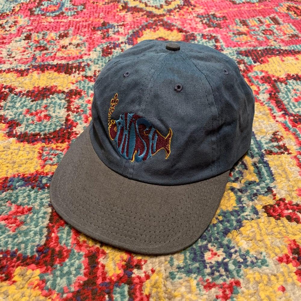 Image of Phish Original Vintage 1990's Hat! Brand NEW!  - Teal/Grey
