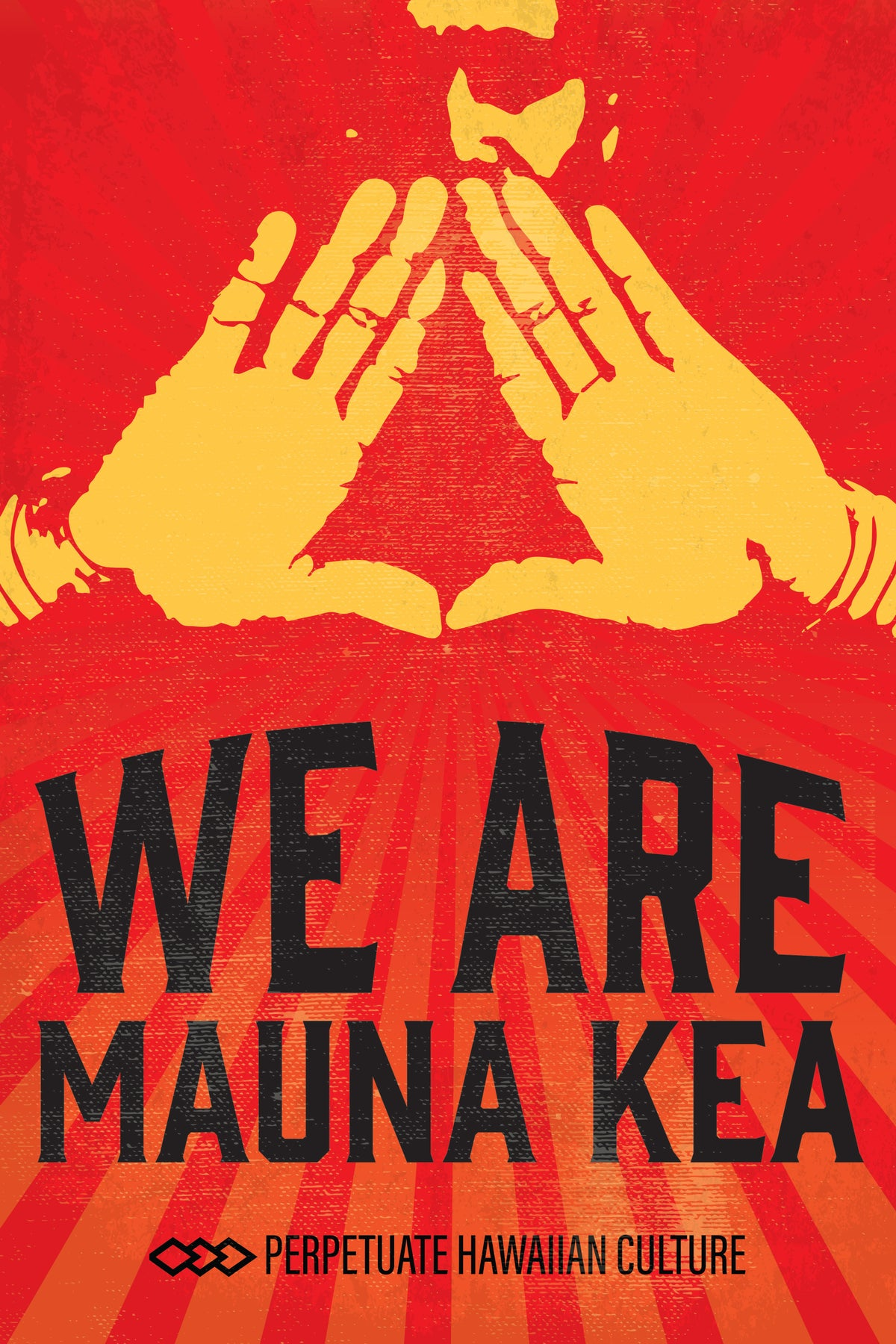 Image of We Are Mauna Kea Sticker