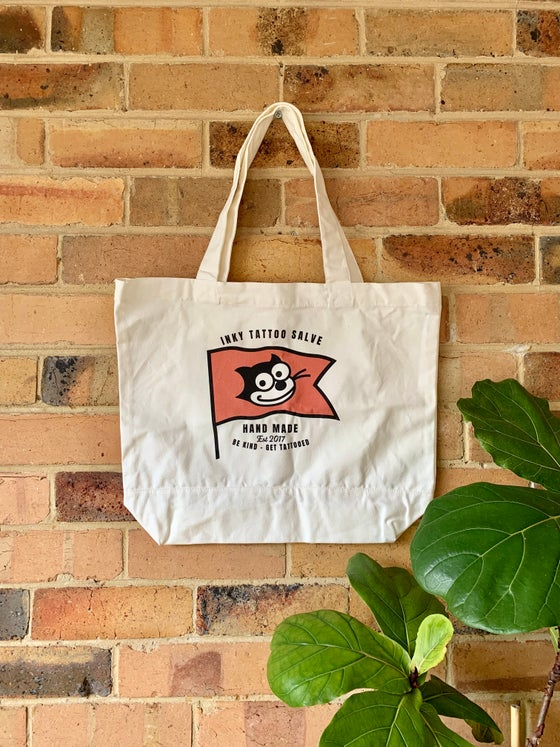 Image of Inky Tattoo Salve Tote Bag