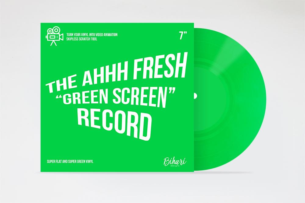 """Image of Green Screen Record 7"""" by Bihari"""