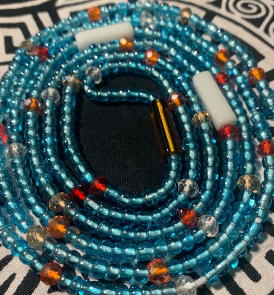 "Image of Princess - African Waist bead (fits up to a 50"" waist)"
