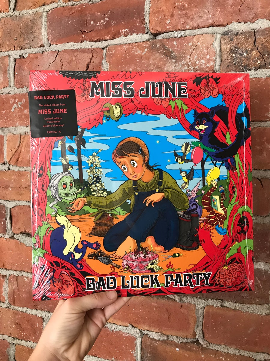 Image of 'Bad Luck Party' LP
