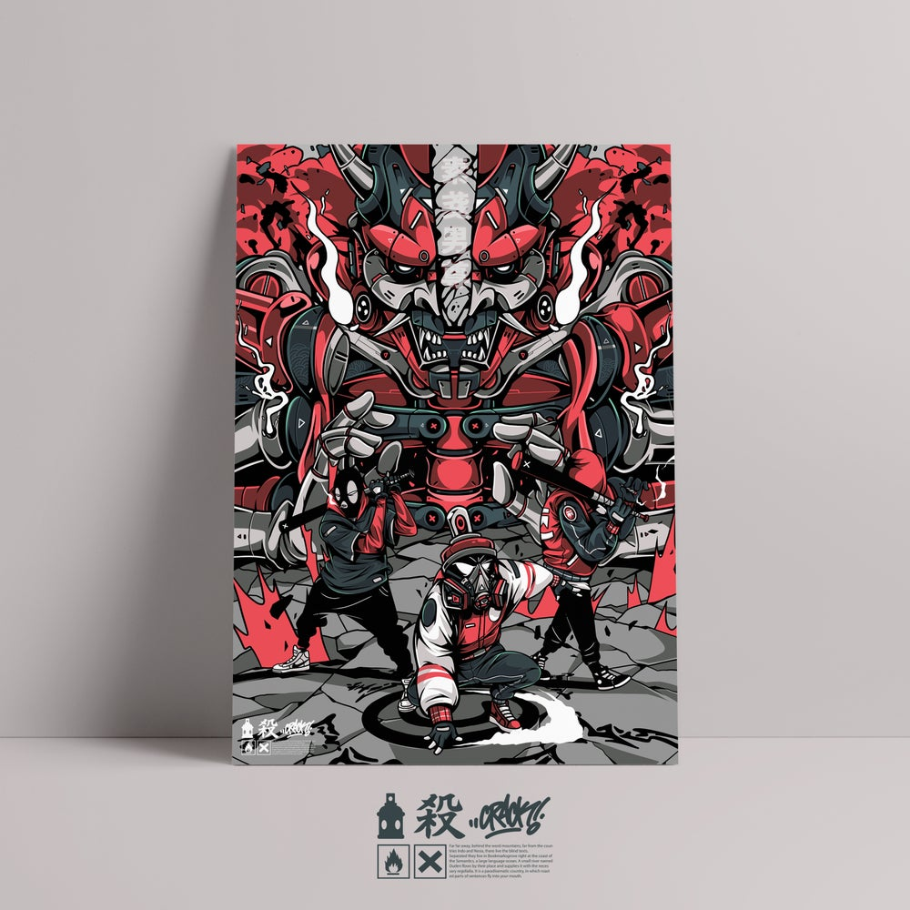 Image of Against The System Series // Susano-o ( 素戔男尊)