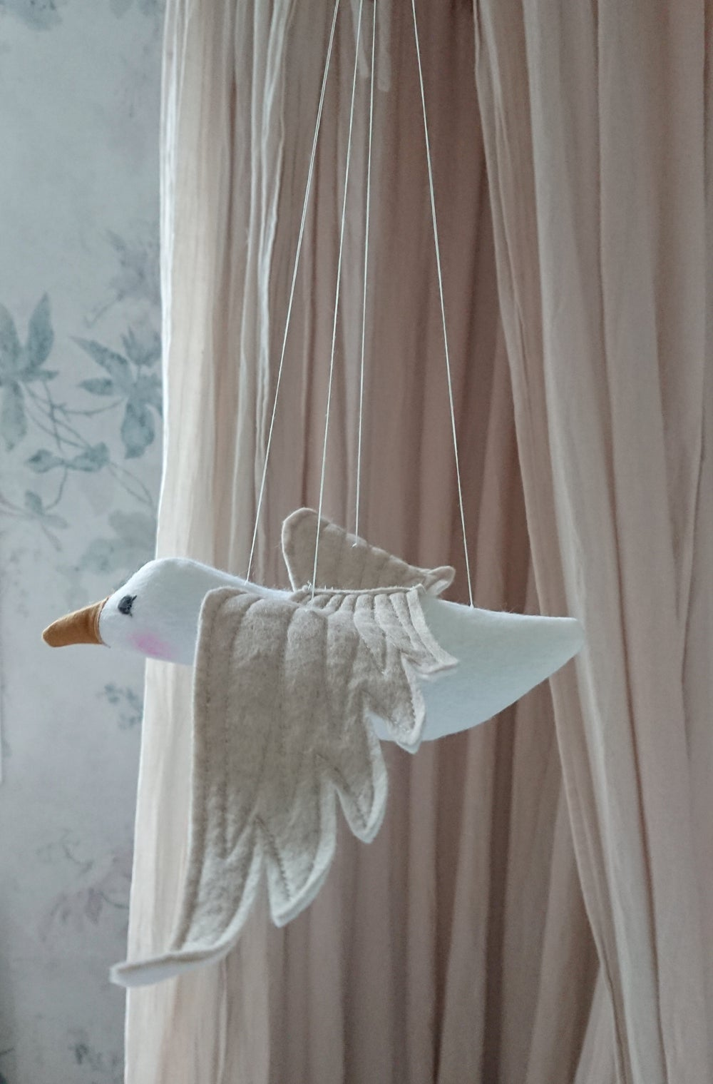 Image of wonderforest seagull mobile  made to order