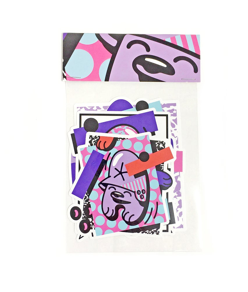 Image of Mr.Penfold X Förtress / sticker pack