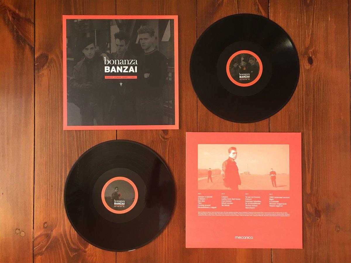Image of Bonanza Banzai - Early Years 89-91 2LP