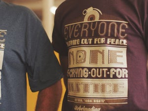"Image of SAMARRETA Rebelmadiaq ""Everyone is.."" / CAMISETA Rebelmadiaq ""Everyone is.."""