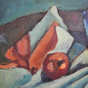 Image of 1952, French, Stilll Life, Painting, 'Apples.'