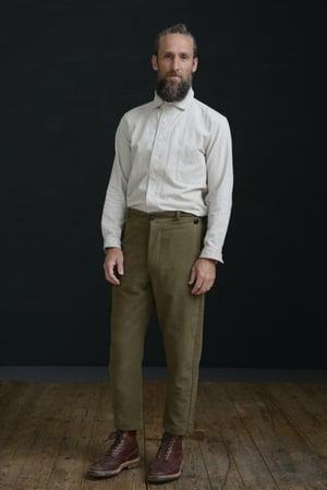 Image of PEAKY BLINDER TROUSER - LOVAT £195.00