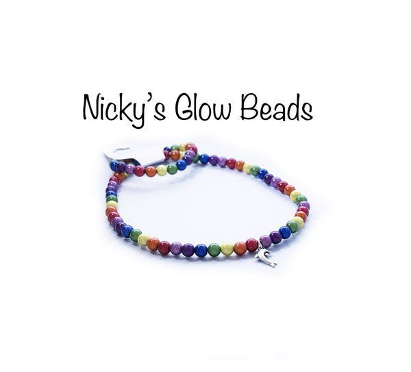 Image of Glow Bead Kids Necklace & Bracelet Sets