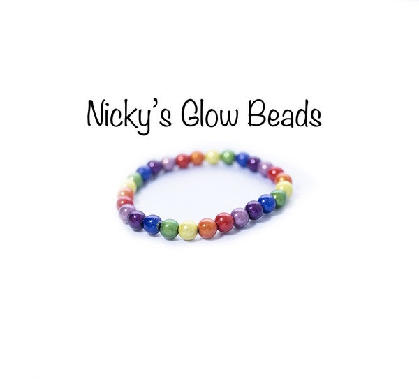 Image of Glow Bead Kids Bracelet