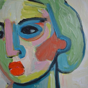 Image of Contemporary Painting, 'We'll Just go on with our Day,' Poppy Ellis