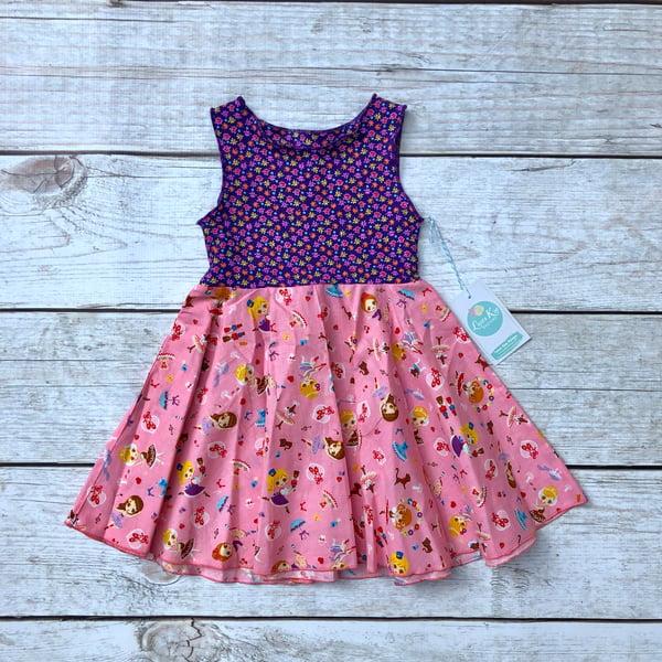 Image of Purple Princess Thea Size 2