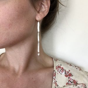 Image of wisp earring