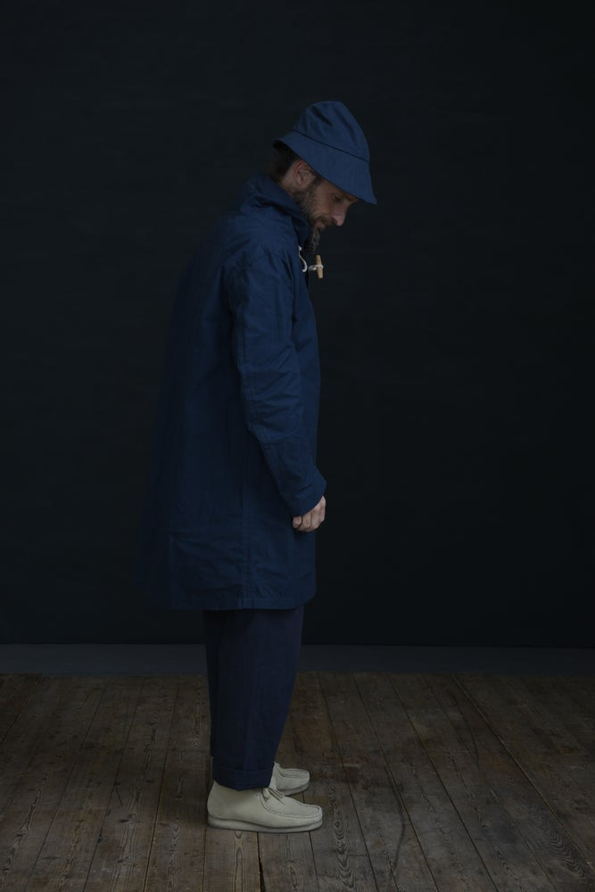 Image of SOU'WESTER HAT INDIGO £78.00