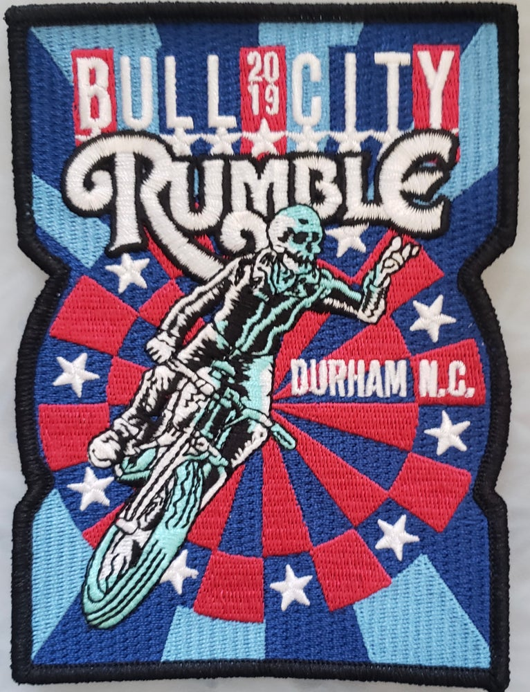 Image of 2019 Rally Patch (Design 1) Free Shipping