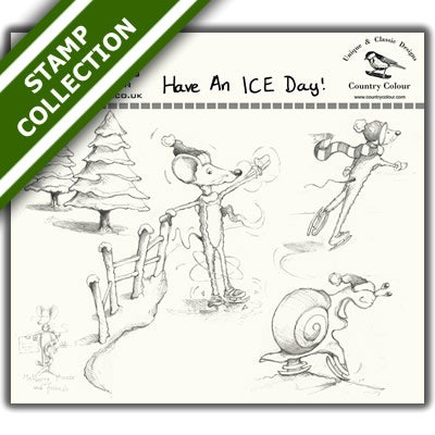 Mulberry Mouse and Friends - Have An ICE Day Stamp Set