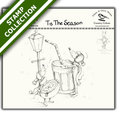 Mulberry Mouse and Friends - Tis The Season Stamp Set