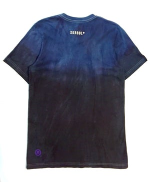 Image of SKRBBL Gradient Tee (Navy)