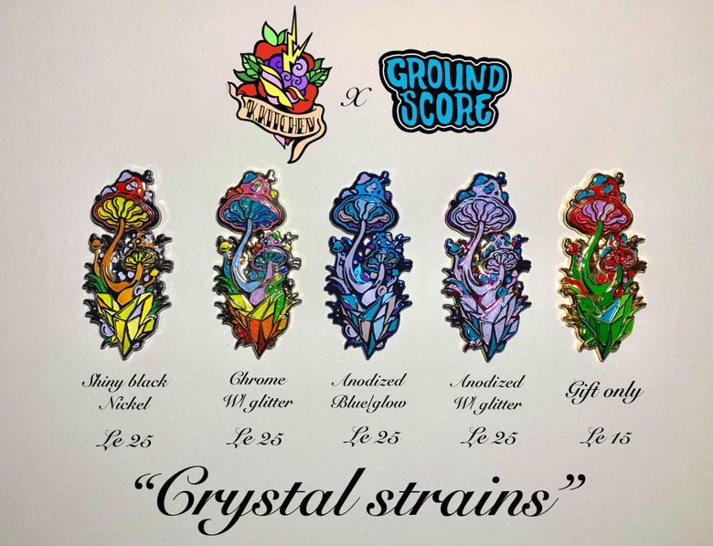 Image of Kkitchen - Crystal Strains Full Set