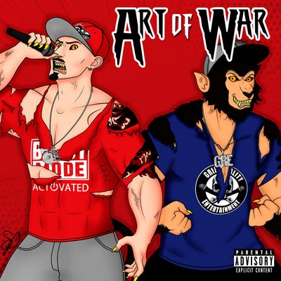Image of BEASTMODE WARRIORS : Art of War    CD