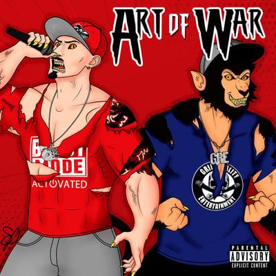 Image of BEASTMODE WARRIORS : Art of War    CD