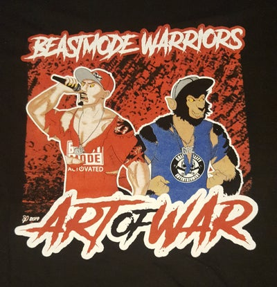 Image of BEASTMODE WARRIORS : ART OF WAR  reg. Shirt