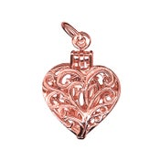 Image of Rose Gold - Intricate Heart