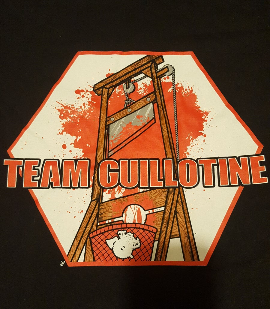 Image of TEAM GUILLOTINE : HEADLESS  reg Shirt