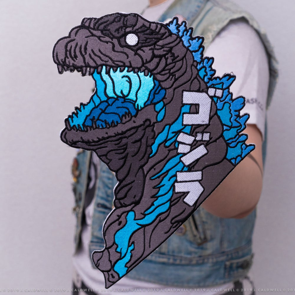 Image of Kaiju 12-Inch Back Patch