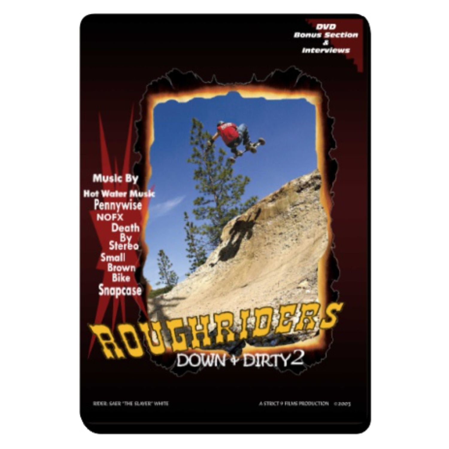 Image of Down and Dirty II - DVD - Mountainboarding