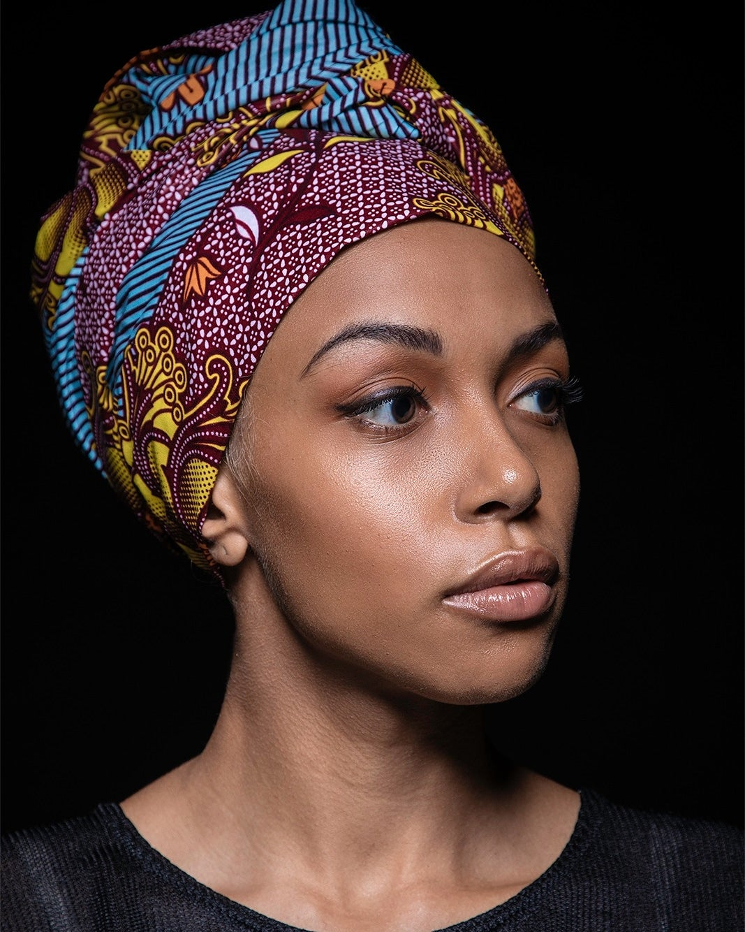 "Image of headwrap ""SPIRITUAL FLOWER"""