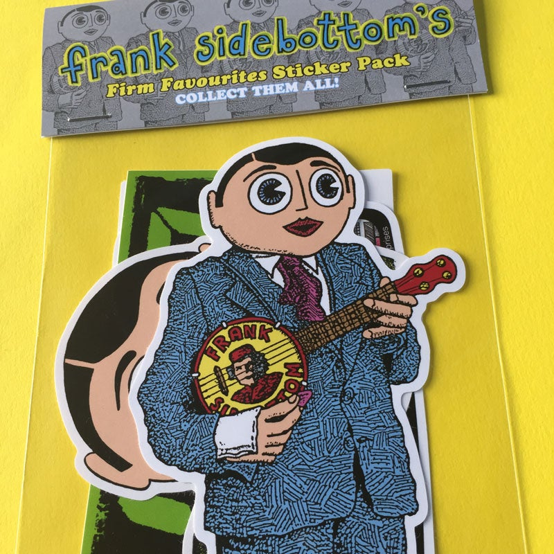 Image of Frank Sidebottom's Firm Favourites Sticker Pack