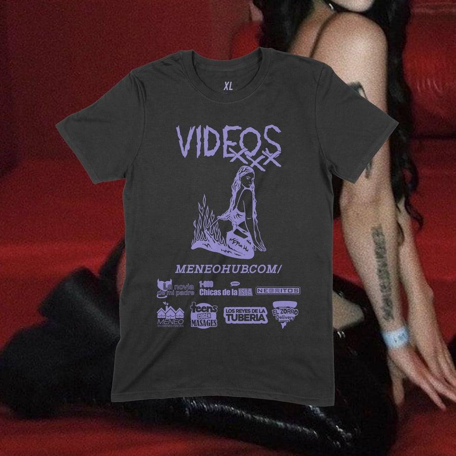 Image of MENEOHUB.com T-Shirt (BLK)