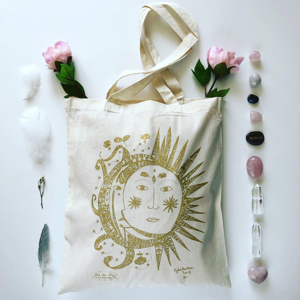 Image of Tote Bag *Sun Moon*