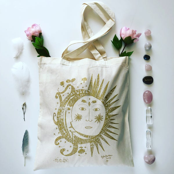 Image of Tote Bag *Sun Moon*