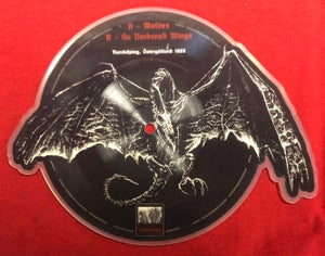 Image of Marduk - Winged Death 1993 shaped picture 7""