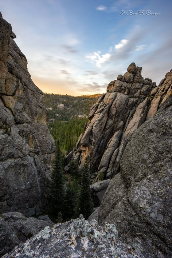 Image of Twilight in the Black Hills