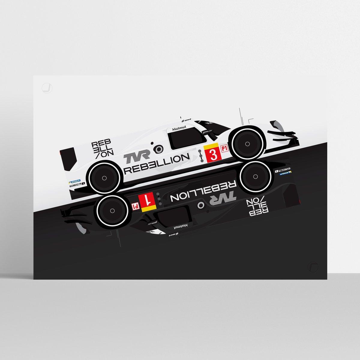 Image of Rebellion Racing | Yin & Yang