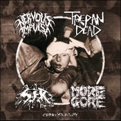 Image of Grind Your Way split CD (2019)
