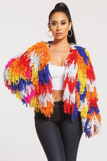 Image of Rainbow Multi Sweater