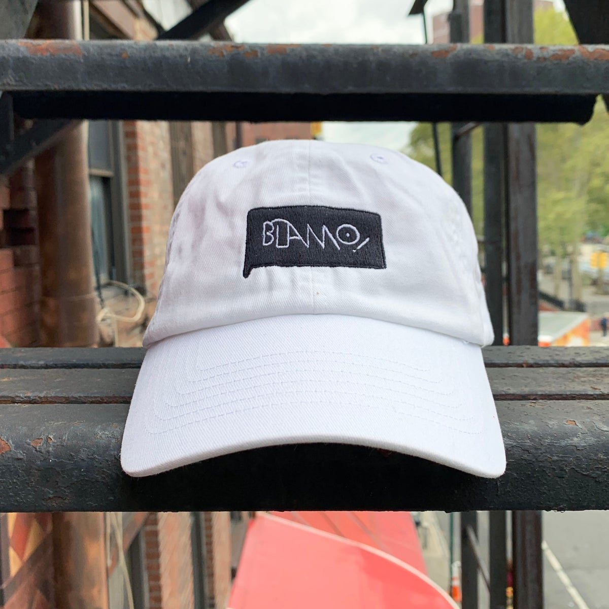 Image of Blamo! Hat - White