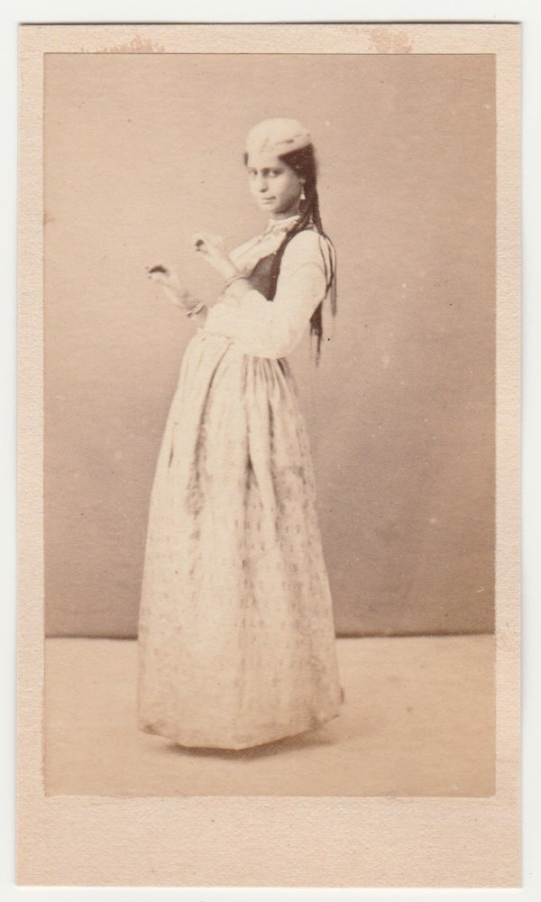 Image of Anonymous: Oriental dancer, ca. 1865