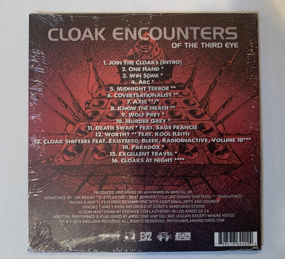 Image of THE CLOAKS - CLOAK ENCOUNTERS (CD)